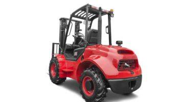Внедорожный дизельный вилочный погрузчик 3 тонны 4WD