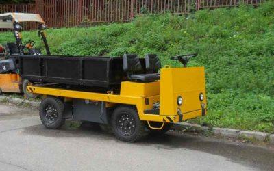 Электросамосвал ЕС 301 грузоподъемностью 2000 кг