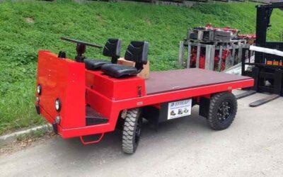 Электротележка ЕП006 платформенная грузоподъёмностью 2000 кг